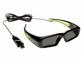 3D Vision / PNY-3D Vision Wired / NVIDIA Wired 3D Vision  glasses USB KIT